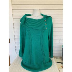 Style & co sz L cowl neck long sleeve sweater